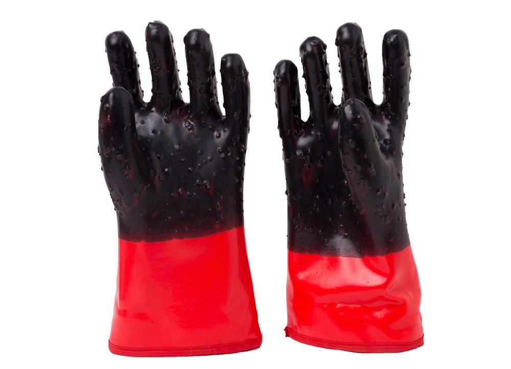 双色浸胶防寒手套