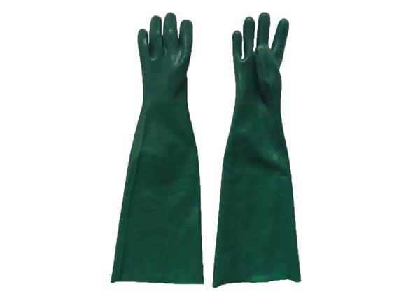 长款绿色耐油手套