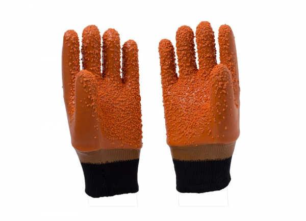 棕色颗粒防冻手套