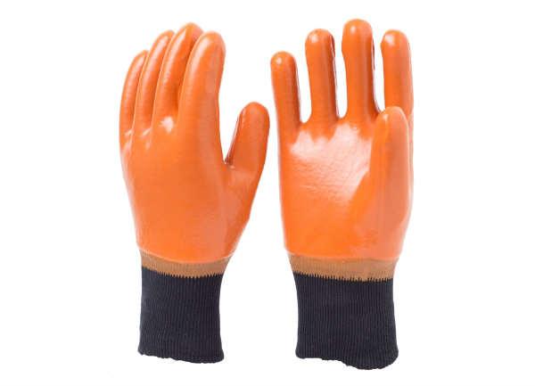 棕色防冻手套
