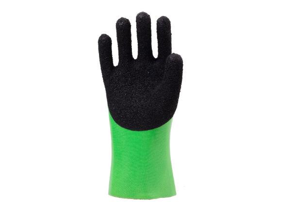 双色发泡耐油手套