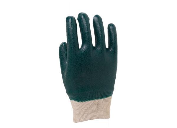绿罗口手套