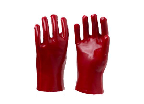 红耐油手套