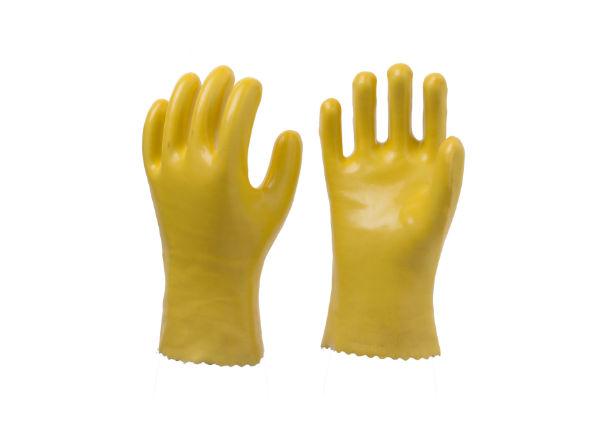 黄色耐油手套