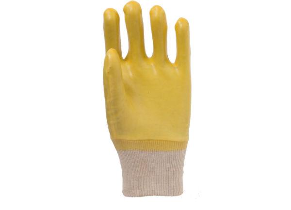 黄色罗口手套