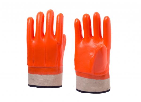 安全袖口荧光防寒手套