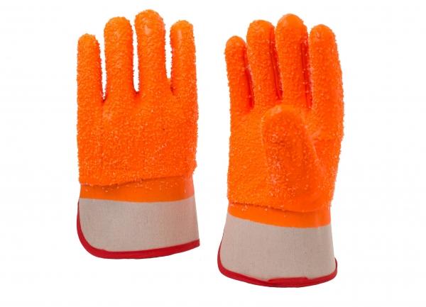 安全袖口荧光颗粒防寒手套