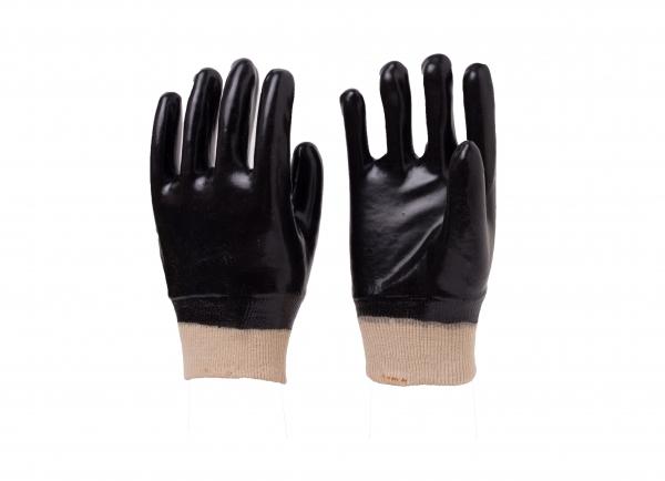 黑罗口手套