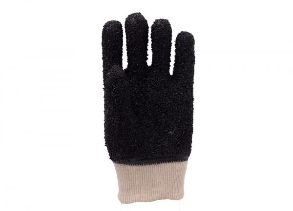 黑颗粒手套