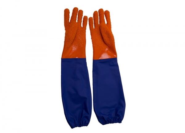 止滑接袖手套