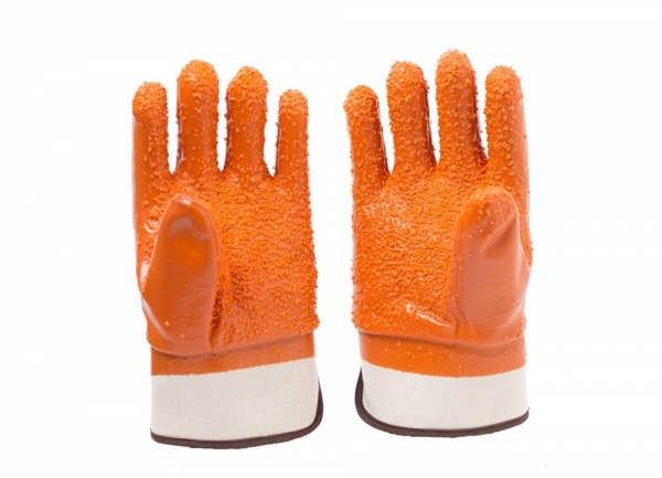 棕色颗粒防寒手套