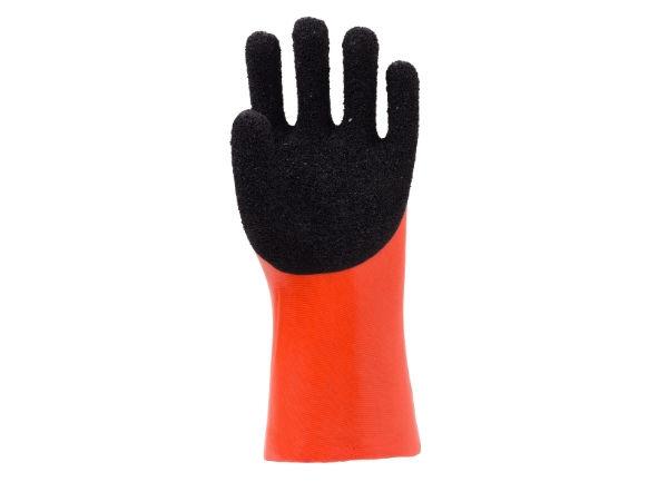 双色发泡手套